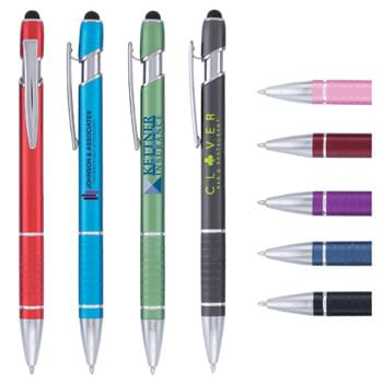 Ellipse Stylus Pen - Full-Color Metal Pen