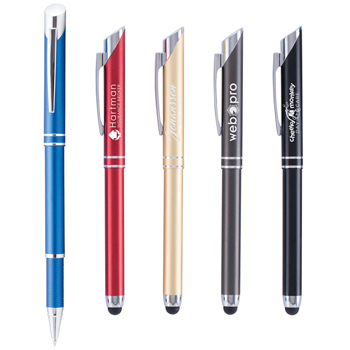 Elon Stylus Pen - Laser Engraved Metal Pen