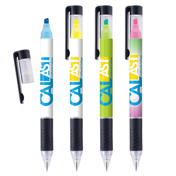 Duplex Pen & Highlighter Combo (Digital Full Color Wrap)