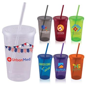 Core - ColorJet - Full Color USA 22 Oz. Tumbler