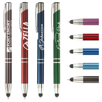 Tres-Chic Touch Stylus Pen - LaserMax Metal Pen