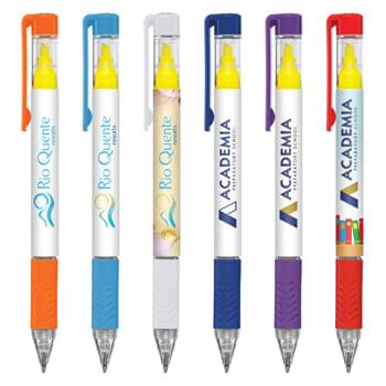 Duplex Brights Highlighter and Pen - Digital Full Color Wrap