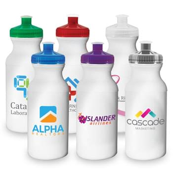 Bike - ColorJet - Full Color 20 Oz. Sports Water Bottle